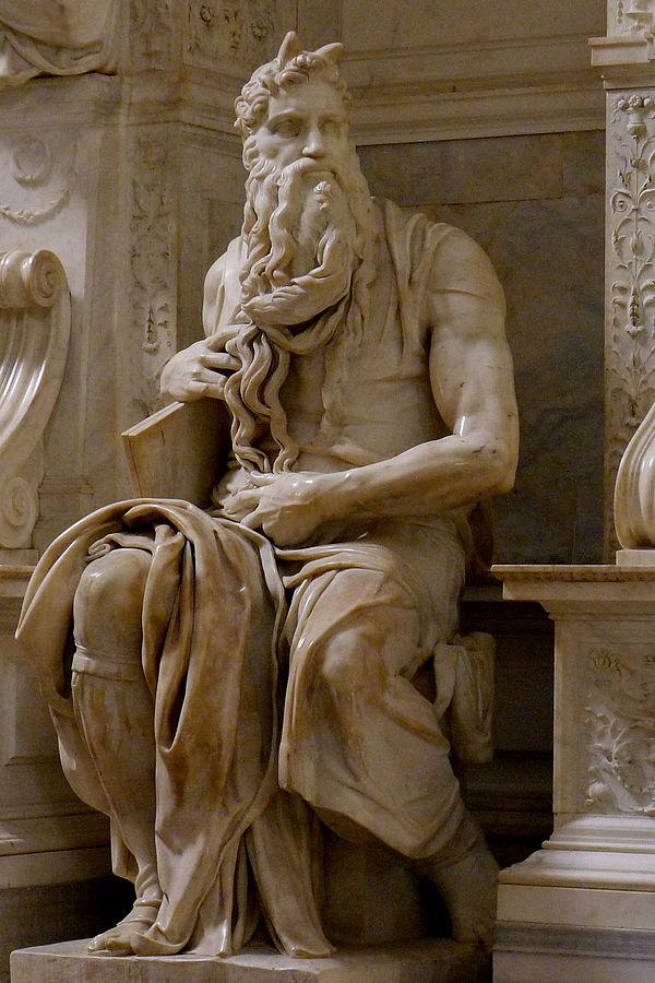 הפסל 'משה'. צילום: Jörg Bittner Unna