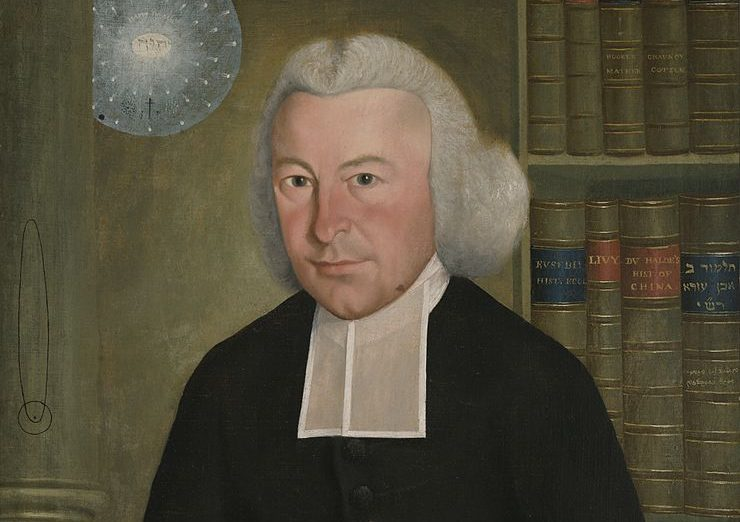 סמואל קינג, עזרא סטילס, שמן על בד, 1770-1771