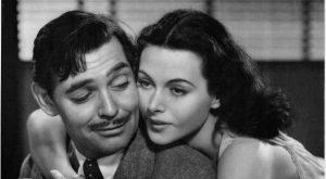 הדי לאמר בחברת קלארק גייבל בסרט קומראד X מ-1940 בו השתתפו שניהם