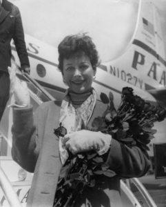 הדי לאמאר נוחתת בפריז, שנות החמישים