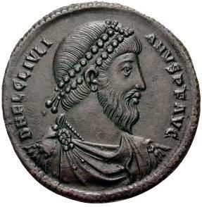 מטבע של הקיסר הרומאי יוליאנוס 'הכופר'