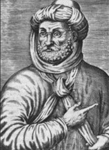סולטן מרוקו אחמד אל־מנצור. תחריט, המאה ה־17