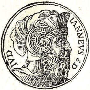 Portrait of Alexander Janneus, Hasmonean king.