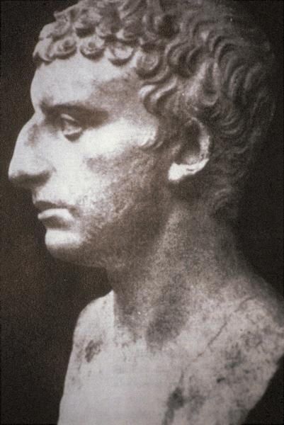 פסל מרומא אשר יש משערים שנוצר על פי דיוקנו של יוסף בן מתתיהו
