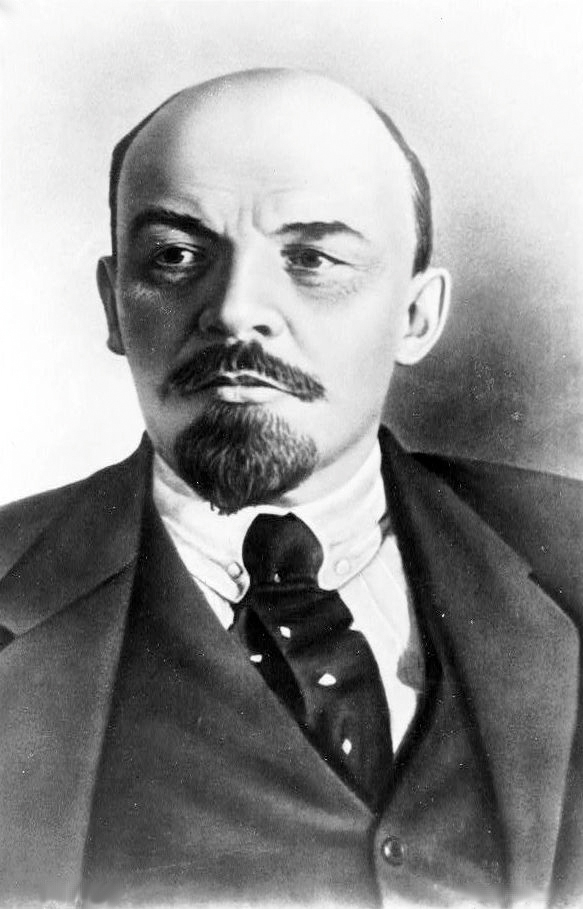 Vladimir Ilyich Lenin, great-grandson of Moses Blank. The father of the Communist revolution was apparently unaware of his Jewish roots