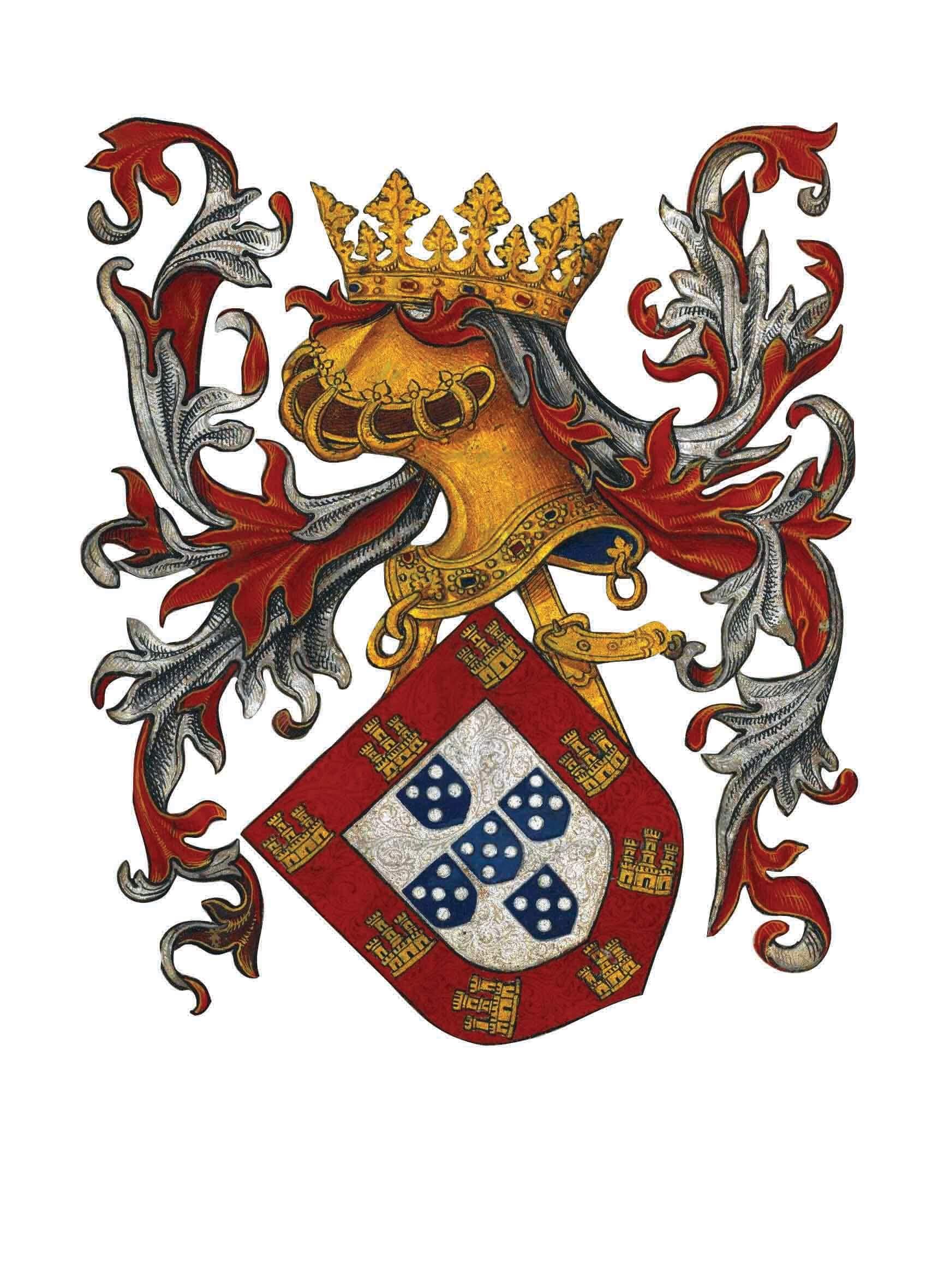 Portuguese royal armor.