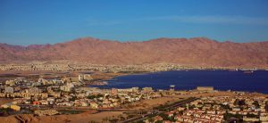 In the 1950s, Eilat was a small, isolated frontier settlement on Israel's southernmost tip, developing into a town only in the 1960s. After the peace accords with Egypt, it was once again Israel's only outlet to the Red Sea, and hotel tourism followed apace. Eilat in 2012