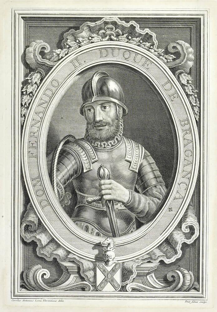 תככים ופוליטיקה בארמון — והיהודים שוב משלמים את המחיר. הדוכס מברגנצה, תחריט מ־1755