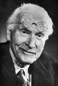 Carl Gustav Jung (1875–1961), age eighty-four, during a television interview at his home on Lake Zurich in 1959. Jung broke with Freud partly over the question of whether empirical methods could be used to investigate the mind