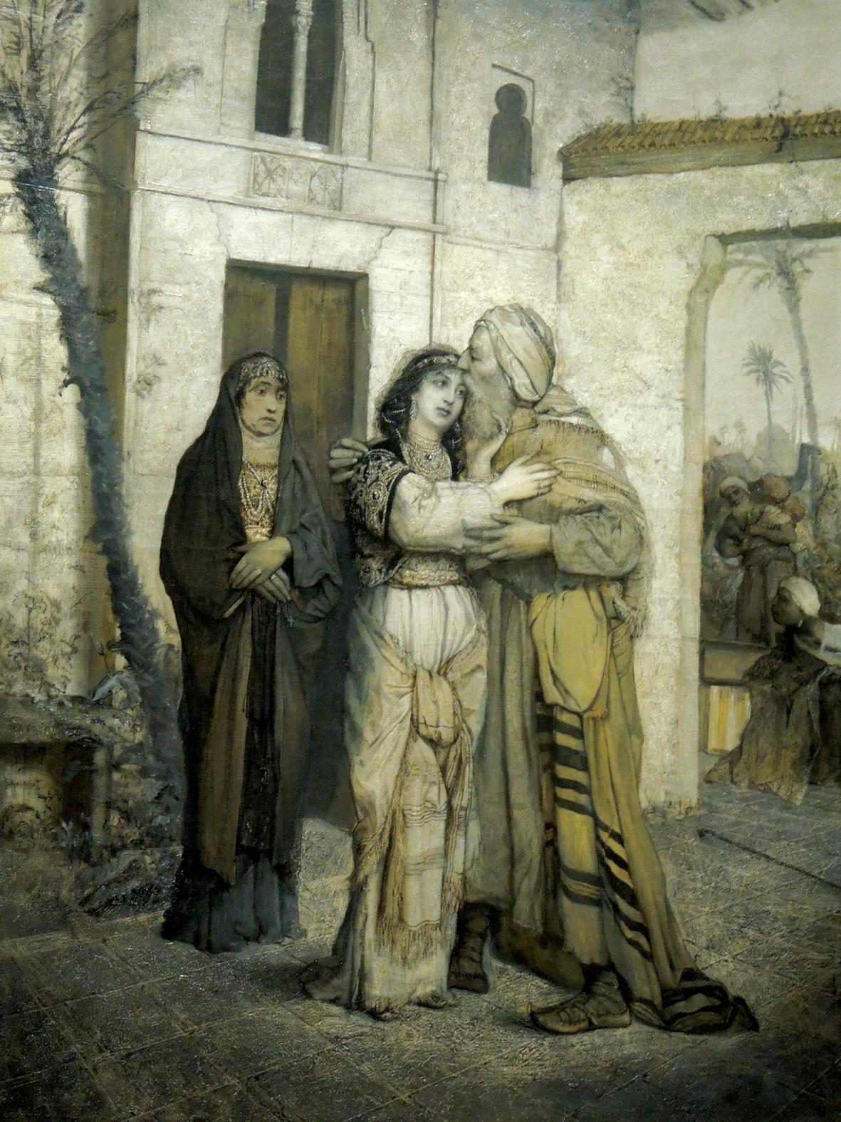 ׳נתן החכם׳, ציורו של מאוריצי גוטליב מ־1877, מבטא את הערצתו של הצייר היהודי החשוב למחזאי הגרמני הדגול ואת הזדהותו עם הרעיון לחבר בין יהודים לנוצרים