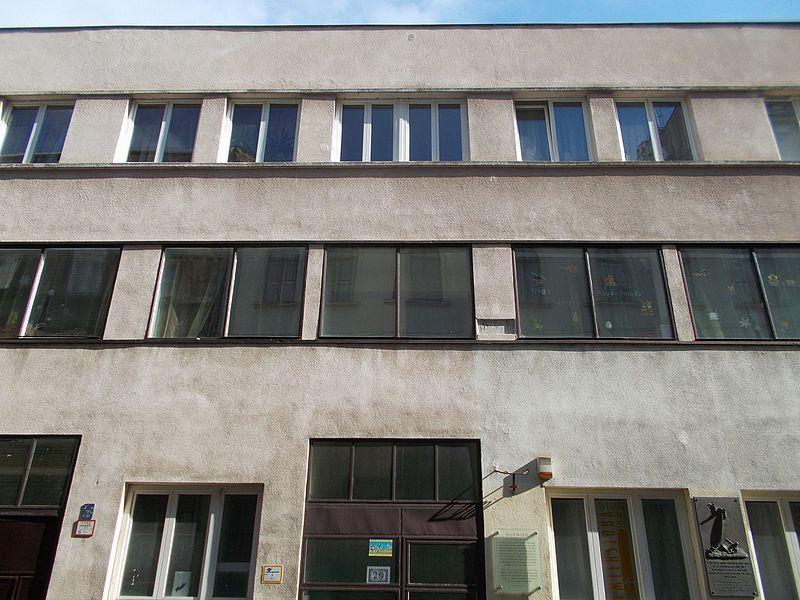 The Glass House at 29 Vadász Street, Lipótváros neighbourhood, Budapest District V