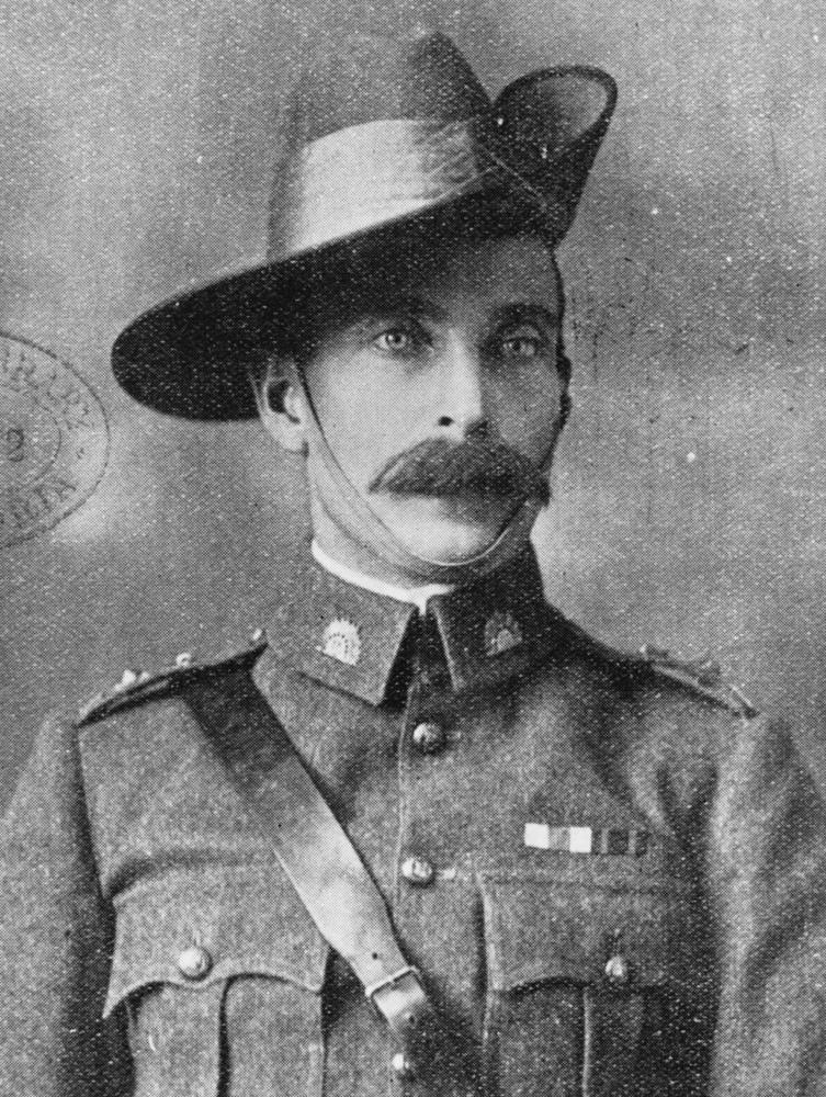 Anzac commander Henry Chauvel was only a colonel in the battle of Gaza but later became the first Australian general in the British army. Chauvel as a cavalry officer during the Boer War, 1902