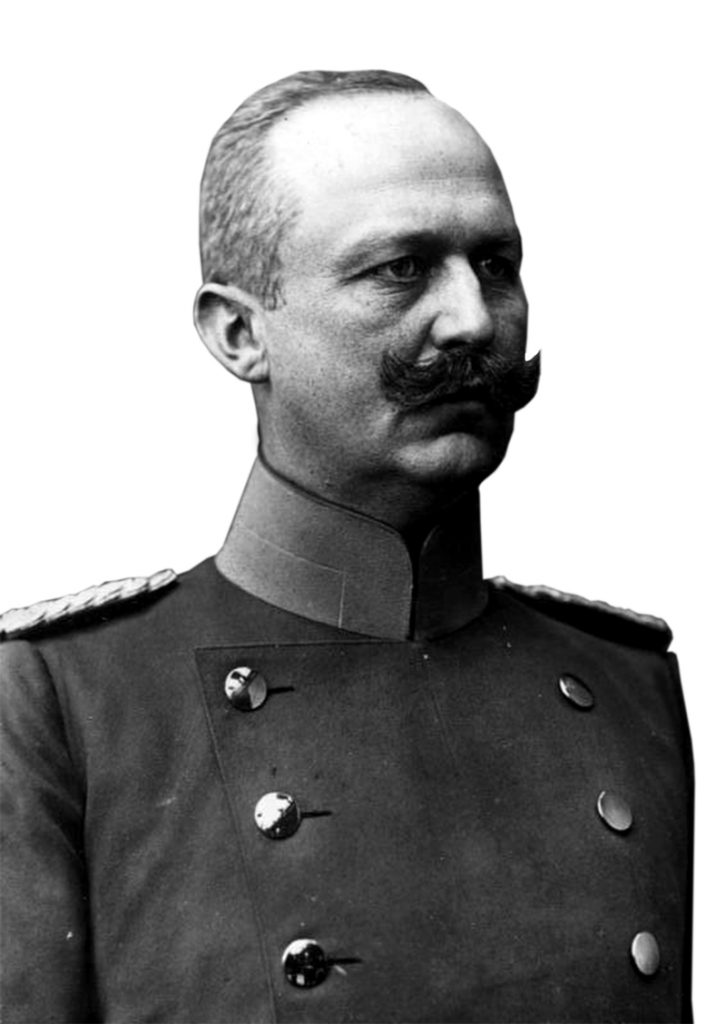 Erich Ludendorff was much younger than Paul von Hindenburg, who came out of retirement to lead the war effort and therefore let his deputy effectively run the show