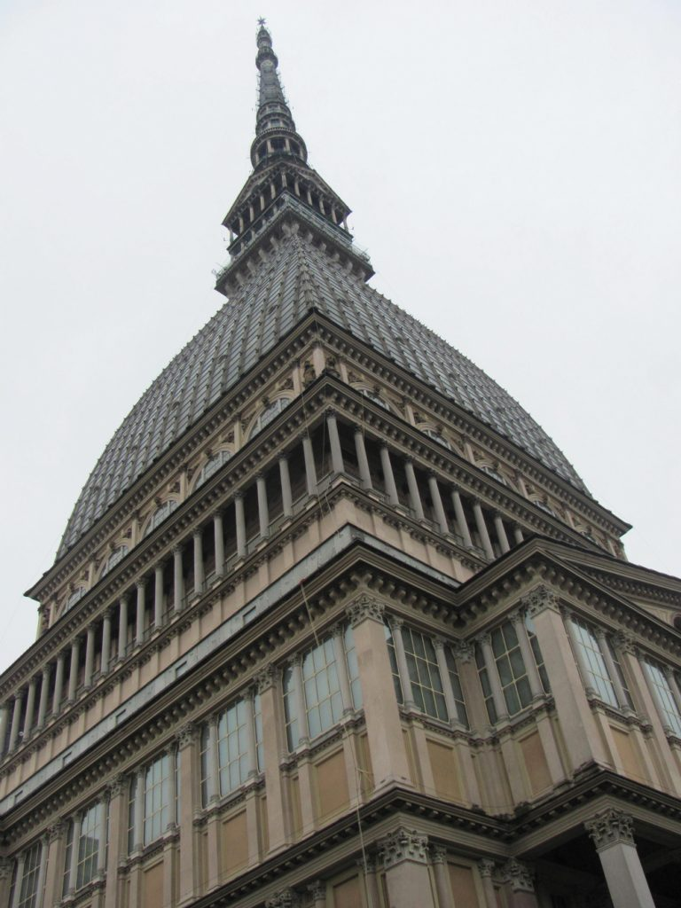 Mole Antonelliana, originally designed as a synagogue