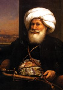 Egypt's first reformer. Muhammad Ali Pasha, oil on canvas by Auguste Couder, 1841
