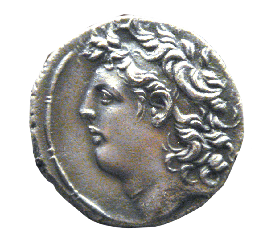 Coin of Tryphon from the British Museum