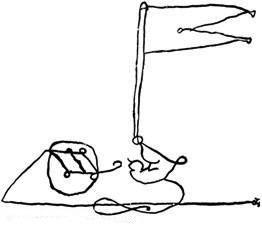חתימתו של שלמה מלכו כוללת איור של דגל המסמל את דגלו המפורסם השמור במוזאון היהודי בפראג. על הדגל של מלכו היו כתובים פסוקים שונים