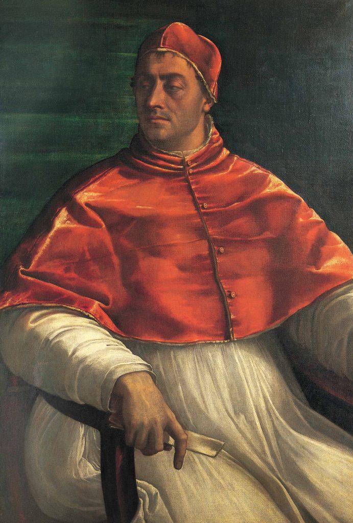 האפיפיור קלמנט השביעי היה פוליטיקאי מתוחכם ותככן, תכונות שבזכותן זכה במשרה רמת המעלה. הוא עבר פעמים אחדות מתמיכה בקרל החמישי לתמיכה ביריבו פרנסואה הראשון מלך צרפת, וחוזר חלילה. קלמנט השביעי בצעירותו, סבסטיאנו דל־פיומבו, שמן על בד, 1526