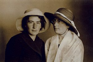 Two Rachels in France. Studying agriculture alongside Rahel in Toulouse, Rachel Yanait (left) later became as much a Zionist symbol as the poet, especially as wife of President Zalman Shazar