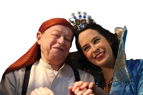 Scenes from De Megilla, the Yiddishpiel Theater performance of Manger's Megilla Ditties, March 2011