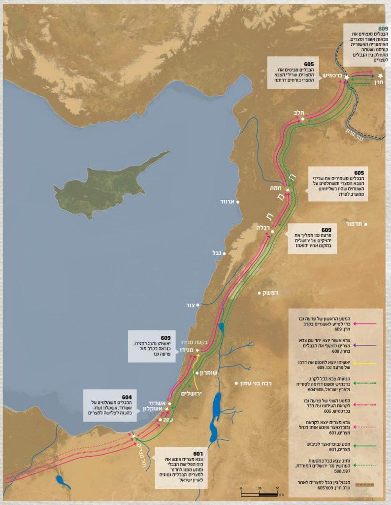 פלישות בבליות לארץ ישראל במאה השביעית לפנה״ס