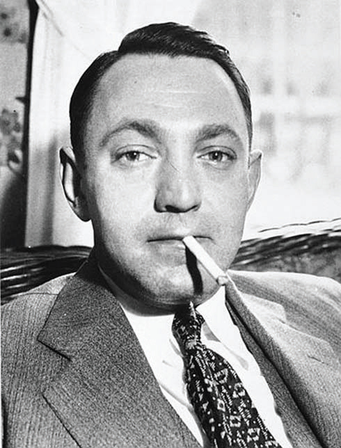 Arthur Flegenheimer, better known as Dutch Schultz, in 1935. Schultz was mown down as ruthlessly as he murdered others
