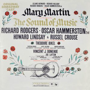 Rodgers and Hammerstein's famous musical The Sound of Music, adapted from the true story of the von Trapp family, was also one of the most successful films in history. Playbill from the 1959 Broadway production