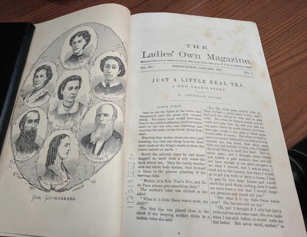 המגזין The Ladies' Own Magazine פתח את גיליון ינואר 1871 בדיוקנאות של כותביו הקבועים, ובהם קורה וילברן — אז בת 47. זו תמונתה היחידה המוכרת לנו המחבר מודה לעובדי ספריית הקונגרס האמריקני על סיועם באיתור התמונה