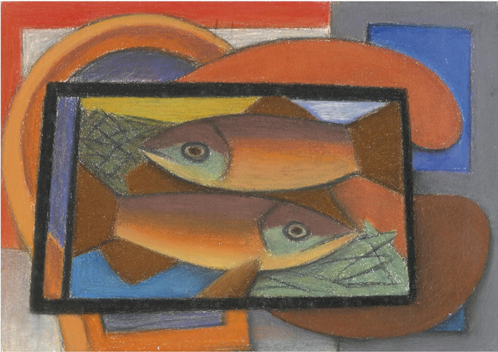 Mark Gertler, Fishes, 1937