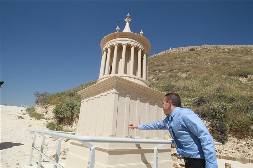 שחזור המאוזוליאום של הורדוס בהרודיון