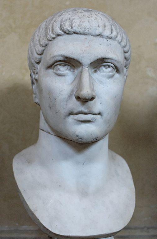 פסל ראש של קונסטנטינוס הגדול