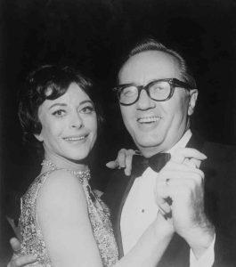 הדי לאמאר רוקדת עם בעלה השישי, לואיס בואי, 1964. Getty Images