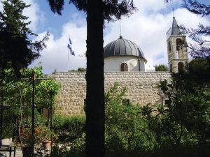 """מנזר סן סימון בתש""""ח וכיום"""