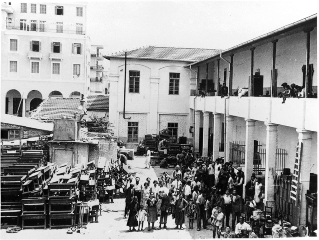 יהודים חסרי בית בסלוניקי, 1931