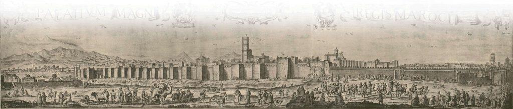 ארמון אל באדי במרקש נבנה על ידי הסולטן אחמד אל־מנצור וממנו נשלח פאלאג'י לשגריר להולנד. בזכות הקשרים האמיצים שכונן פאלאג'י בין הולנד למרוקו זכה הארמון כי הצייר ההולנדי אדריאן מת'ם ינציח אותו ב־1640