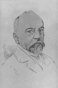 Isidor Kaufmann, self portrait