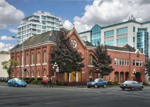 בית הכנסת 'קהילת עמנואל' בויקטוריה, קנדה. צילום: לואיס דוידסון