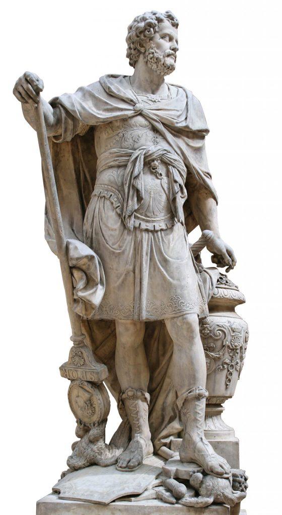 עד מהרה עלו מושבות פניקיות אחדות בכוחן ובחשיבותן על הערים הפניקיות המקוריות. הבולטת מכולן היא המושבה בקרת חדשת — קרתגו, והדמות הקרתגית המוכרת ביותר היא ללא ספק המצביא חניבעל, שהוביל צבא ענק מצויד בפילים דרך ספרד וצרפת עד לרומא עצמה. פסל אבן של חניבעל מאת סבסטיאן סלודז, 1704