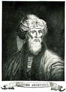 תחריט עץ של יוסף בן מתתיהו