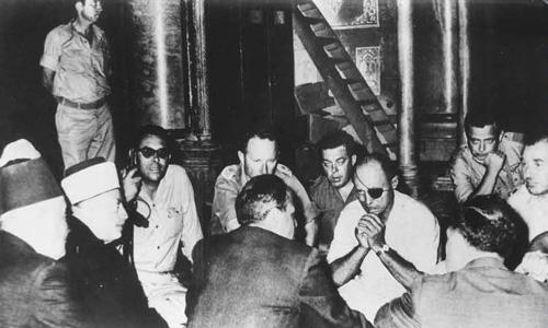 משה דיין נפגש עם נציגי הווקף לאחר מלחמת ששת הימים. בפגישה זו סוכם על החזרת האחריות על הר הבית לידי ווקף