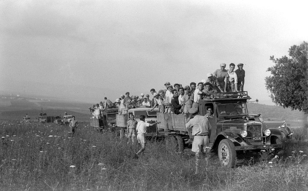 Kibbutz Alonim in 1938