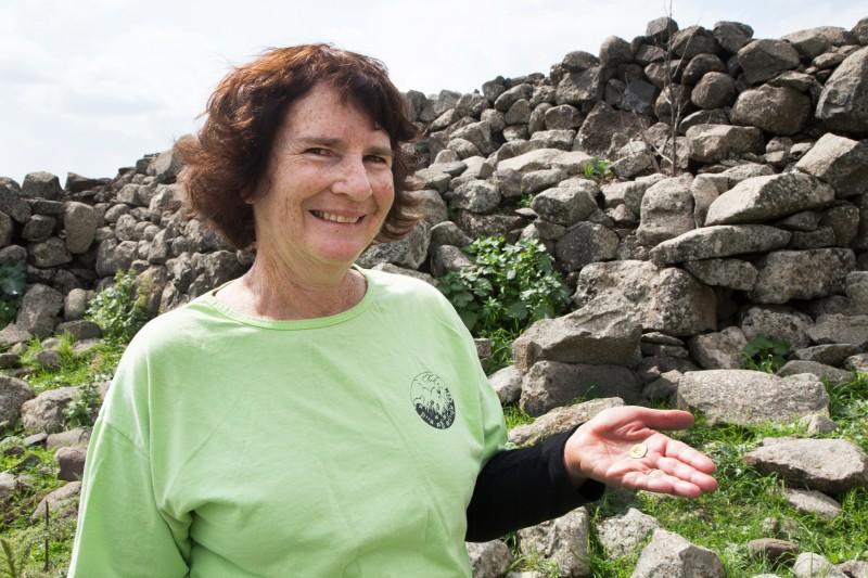 בראיון לעיתונות סיפרה לורי רימון כי מצאה את המטבע באקראי, בעת שישבה עם חבריה להפסקת אוכל במהלך טיול. ייתכן שגשמי החורף שטפו את הבוץ שכיסה את המטבע במשך אלפי שנים