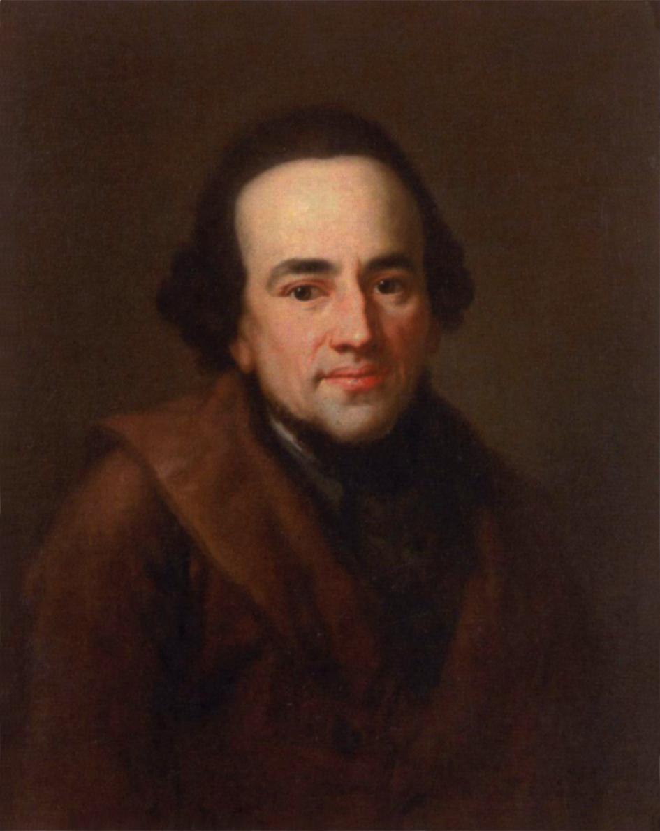 משה מנדלסון, אנטון גראף, שמן על בד, 1771