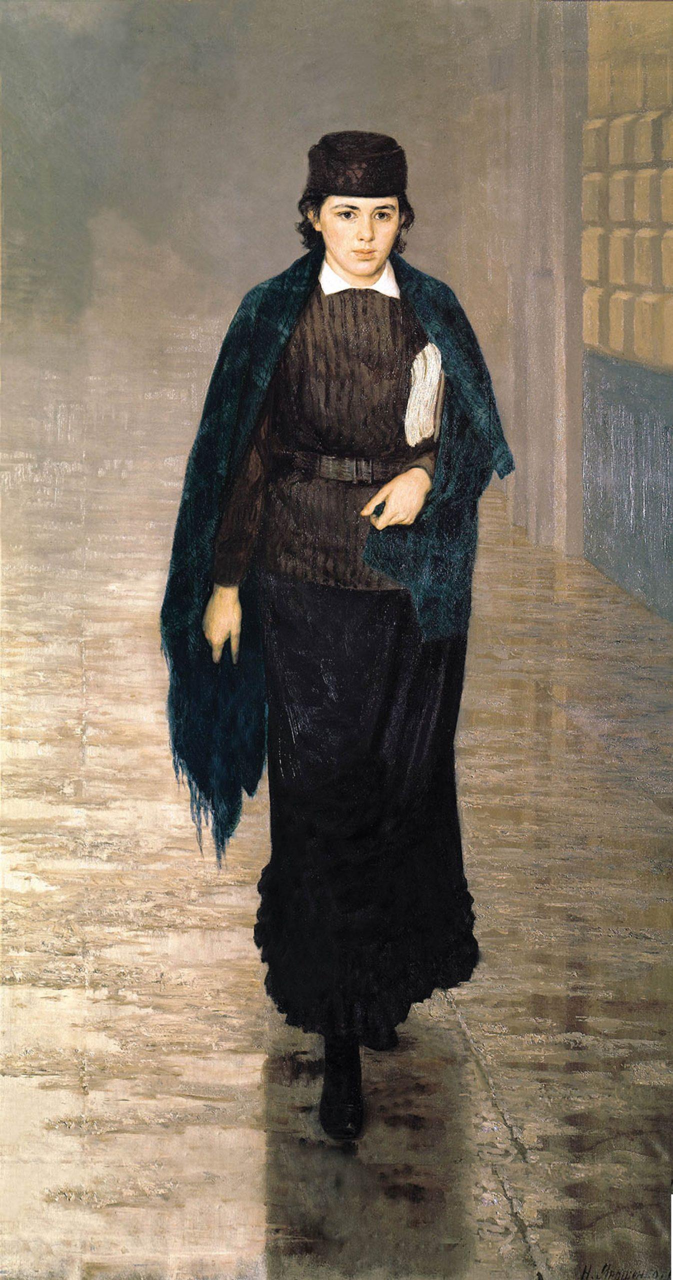 במהלך המאה ה־19 החלו נשים אט אט ללמוד באוניברסיטאות באירופה, וההשכלה שרכשו שם הייתה אחד הגורמים שהשפיעו על צמיחתן של נשים כותבות. סטודנטית בקייב, ניקולאי ירושנקו, שמן על בד, 1883