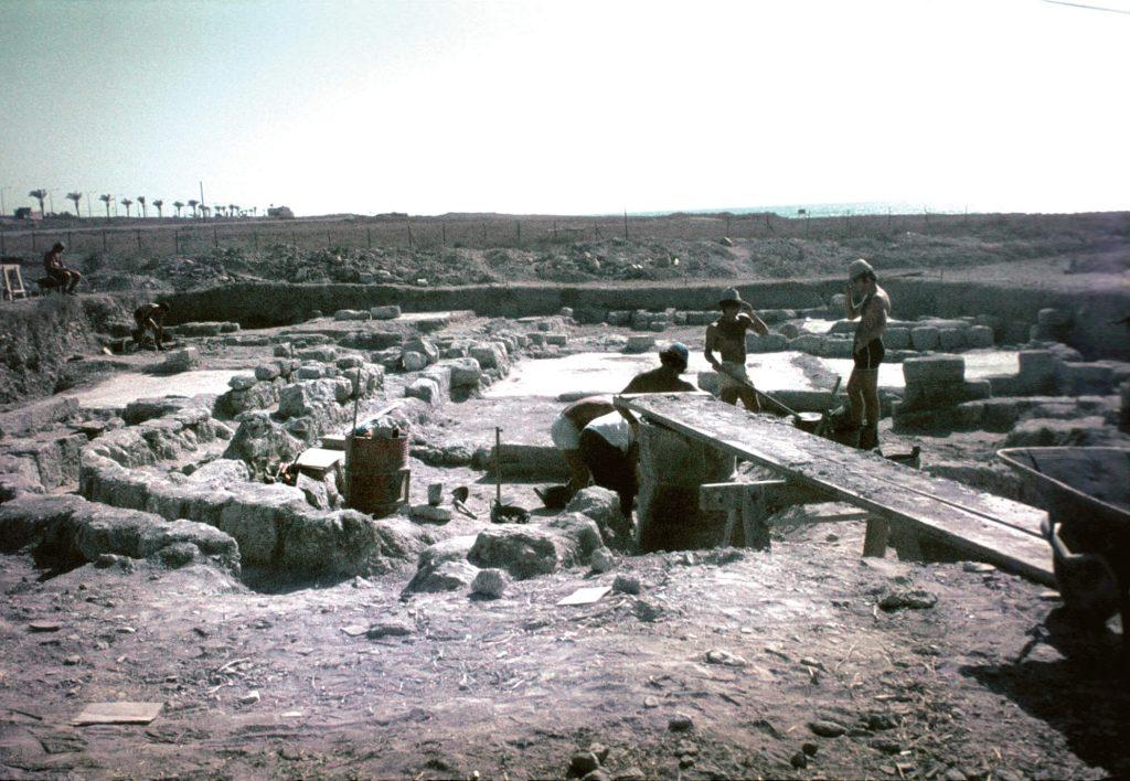 Unearthing Haifa's Talmudic predecessor. Excavations in Tel Shikmona, 1992