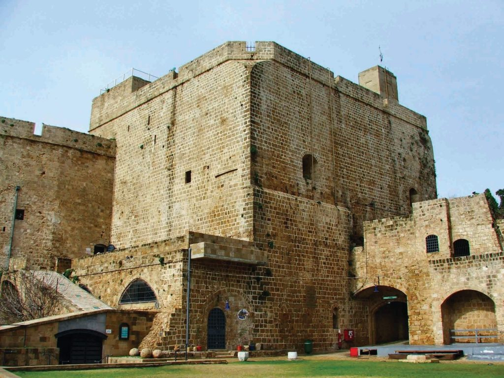 The Knights' Halls, or Citadel of Acre, originally served as the Knights Hospitaller compound. This last Crusader outpost in the Holy Land was incorporated into Acre's Ottoman citadel and also housed the town's infamous prison