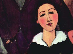 Jacques and Berthe Lipchitz (1916) Artist: Amedeo Clemente Modigliani
