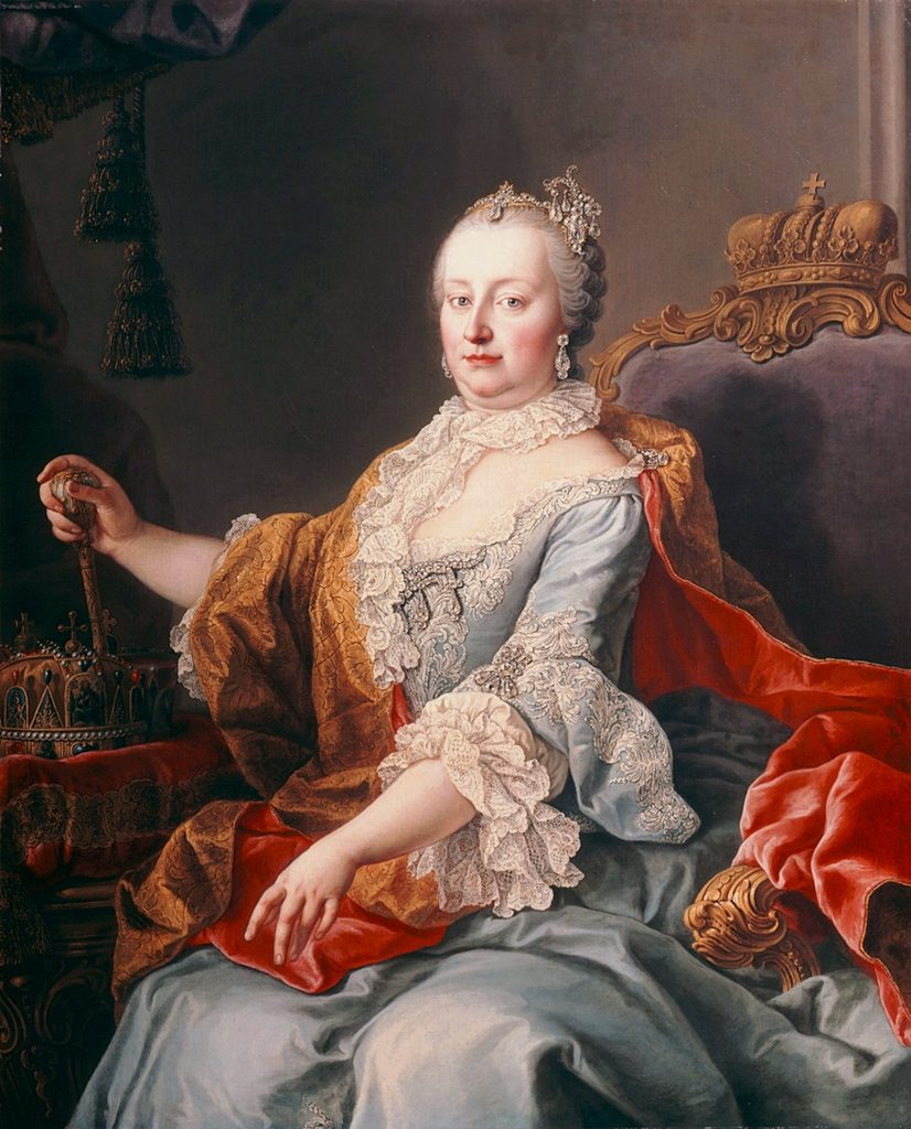 The wicked queen? Portrait of Empress Maria Theresa in 1759, produced by the workshop of Martin van Meytens