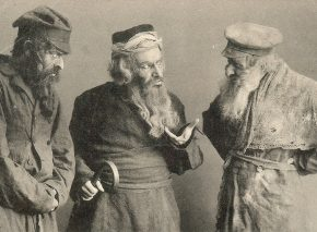 "Jewish actors in ""Across the Ocean"", about Jewish emigrants in the United States"