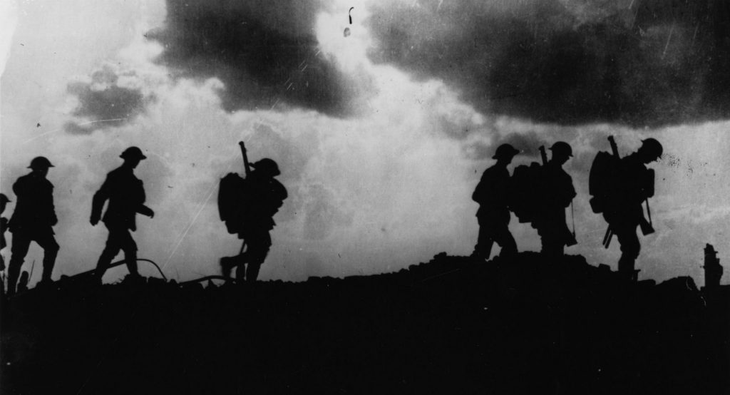 זירת קרב. מלחמת העולם הראשונה